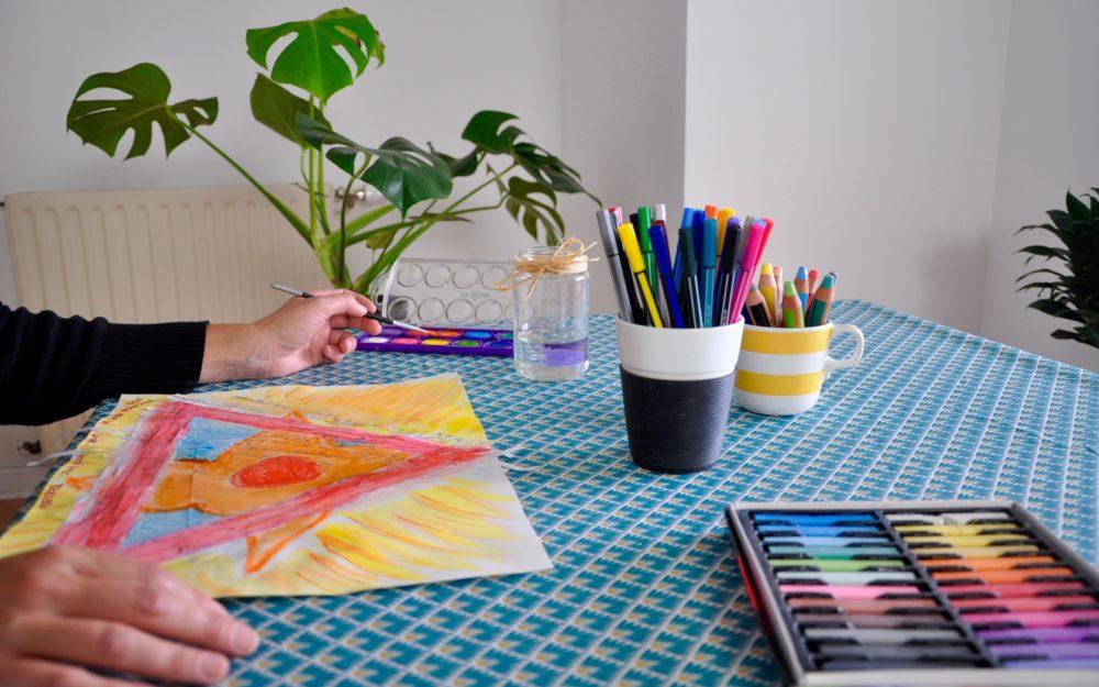l'arbre aux sens - atelier groupe equilibre interieur - art-therapie nantes vertou
